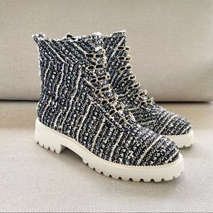 Anthropologie Cecelia New York Chance Boot Pearl